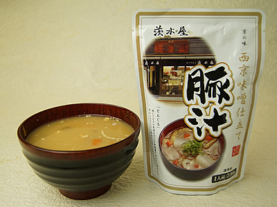 茨木屋 西京味噌仕立て豚汁