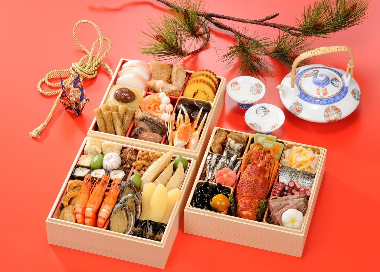 三段重 京のごちそうおせち(京のお菜)