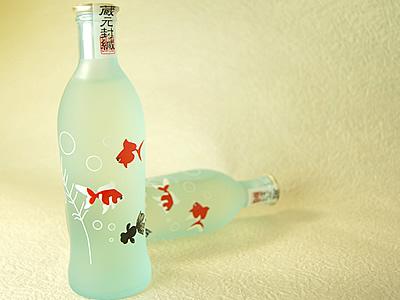招徳 四季の純米吟醸デザインボトル 夏の戯れ 240ml
