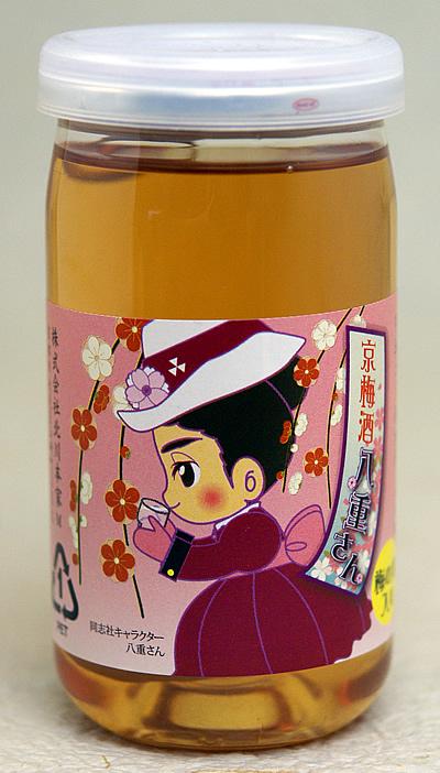 京梅酒 八重さん 梅の実入り